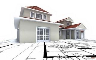 Maquette d'une propriété immobilière