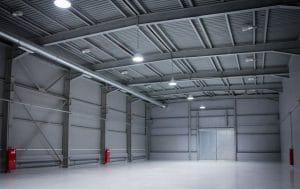 Exemple de hangar démontable