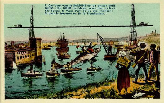 La légende de la sardine qui boucha le Vieux-Port