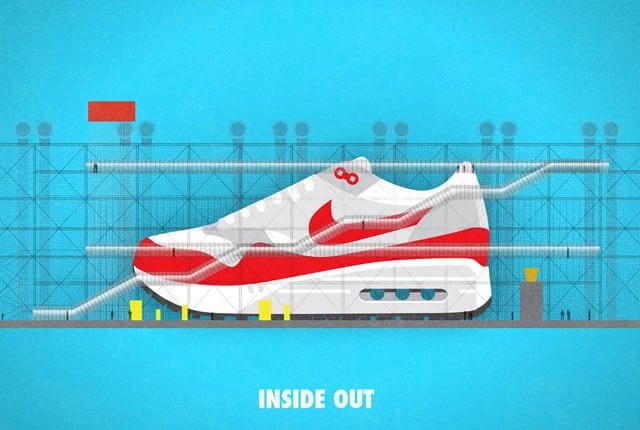 Architecture : cas d'école sur le design des Sneakers Nike